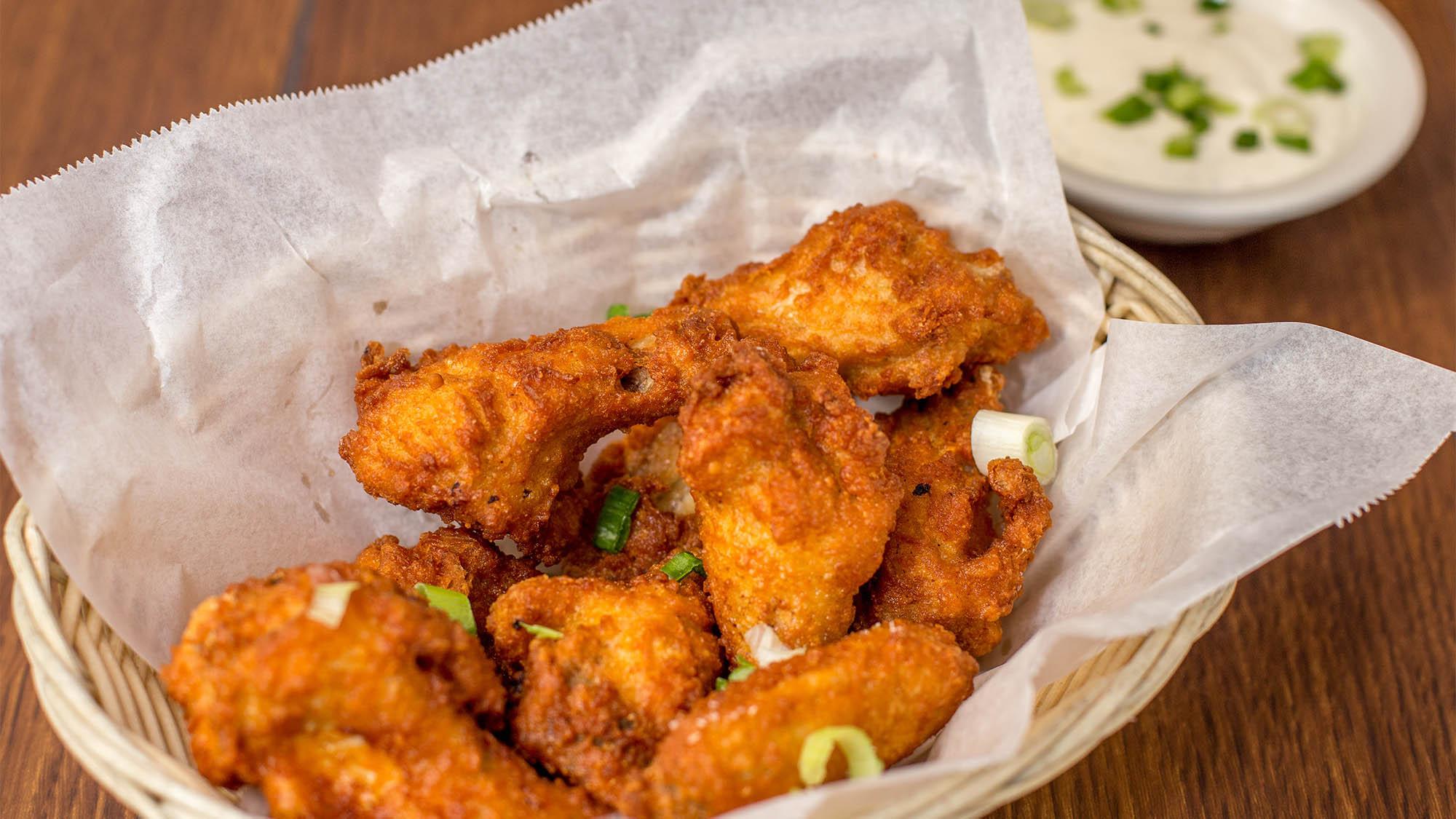 Chicken Wings in Basket