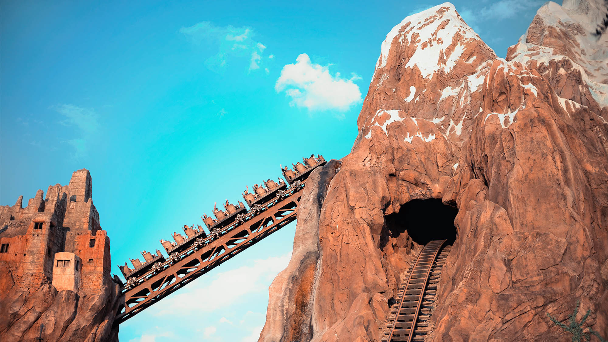 Expedition Everest Disney Roller Coaster